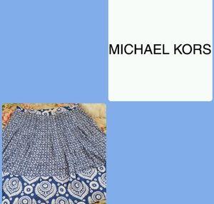 Michael Kors A-line Cotton skirt! SZ 16!